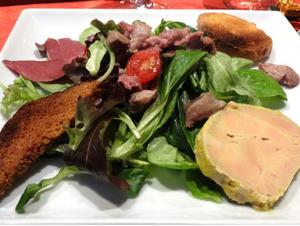 Auberge du Puits salade Auberge du Puits