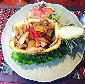 Bangkok Royal poulet curry ananas Bangkok Royal