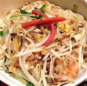 selection Bangkok Royal nouilles sautees Bangkok Royal