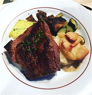 Chez M man steak Chez M'man