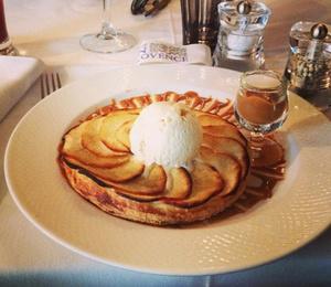 Comme en provence Tarte fine aux pommes Comme en Provence