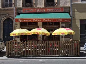 restaurant terrasse Fahima Tandoori