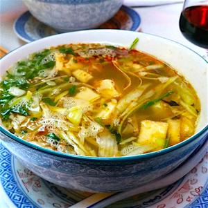 Hong Ha soupe vegetarienne Hong Ha