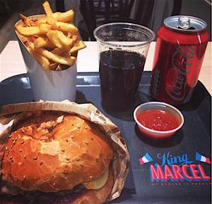 King Marcel  Merciere burger 1 King Marcel - Mercière