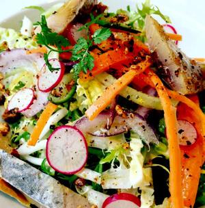 L Attrape Coeurs salade hareng L'Attrape-Coeurs