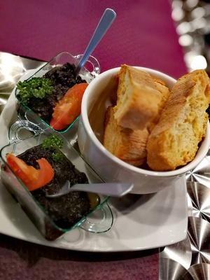L Ecrin Entree L'écrin Restaurant