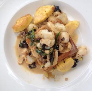 L Ermitage Hotel Cuisine a manger Vol au vent de poissons L'Ermitage Hôtel Cuisine-à-manger