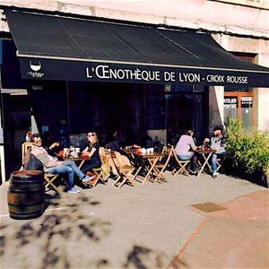 L Oenotheque de Lyon terrasse L'Oenotheque de Lyon