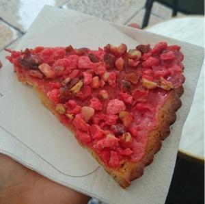 La Marquise tarte aux pralines La Marquise