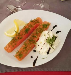 La Matiniere saumon La Matinière