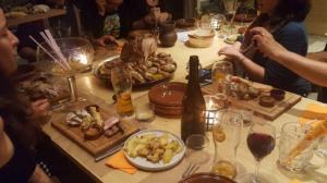 Taverne des 3 Gaules menu festin La Taverne des 3 Gaules