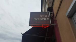 Bistro Gourmand enseigne Le Bistro Gourmand