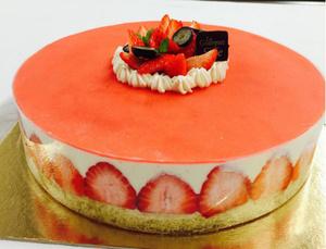Le Gourmet de Seze gateau fraises Le Gourmet de Sèze