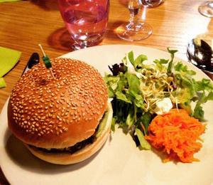 Le Jardin Interieur Burger vegan Le Jardin Intérieur