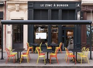 Le Zinc a Burger exterieur Le Zinc à Burger