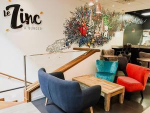 Le Zinc a Burger salle Le Zinc à Burger