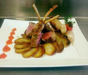 Selection Maison Gamboni carre d agneau en croute Maison Gamboni