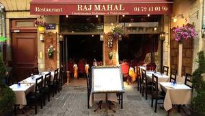 Raj Mahal terrasse Raj Mahal