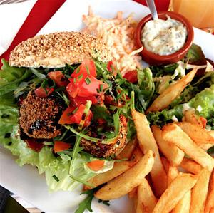 Rem s burger vegetarien Rem's