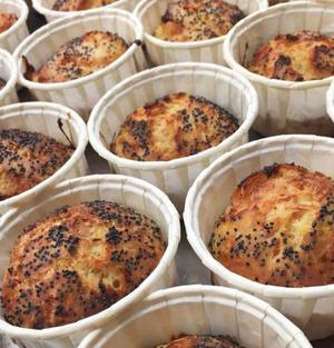 Restaurant La Verriere Muffins saumon Restaurant La Verrière