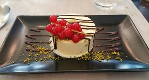 Restaurant La Verriere dessert Restaurant La Verrière