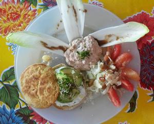 Rita Plage assiette brunch1 Rita-Plage