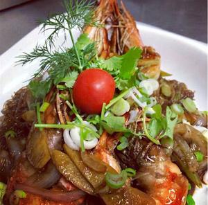 selection Thai demoiselle vermicelles crevettes gingembre Thaï demoiselle