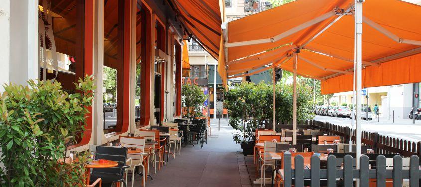 Terrasse du restaurant Au rendez vous des amis à Lyon