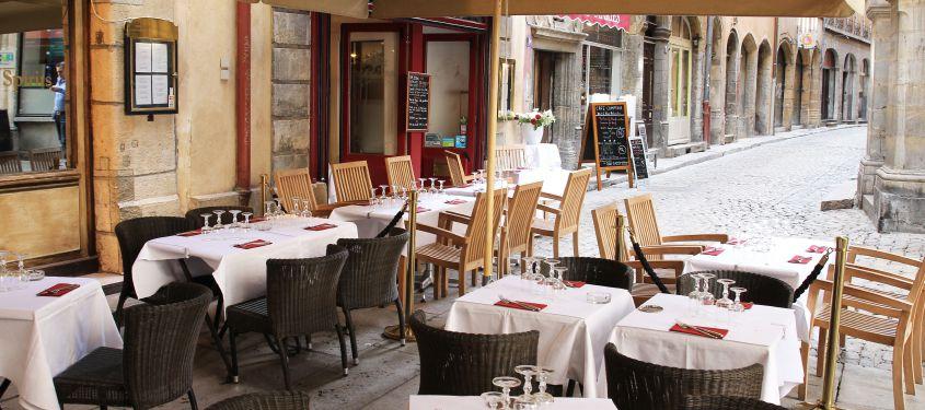 Sélection de terrasses de restaurants sur LyonTerrasse.com