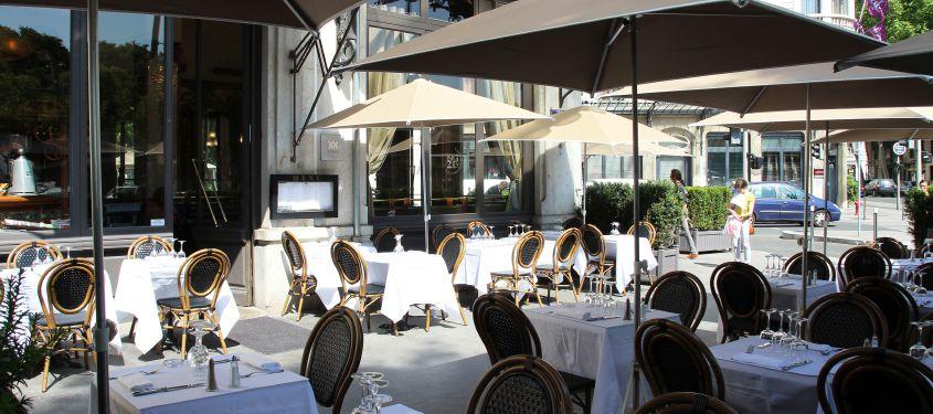 Terrasse du restaurant Brasserie des Brotteaux à Lyon