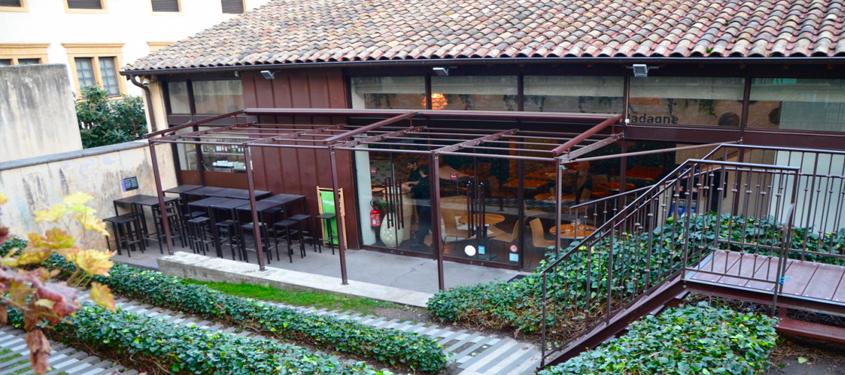 Terrasse du restaurant Café Gadagne à Lyon