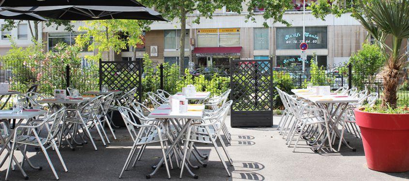 Terrasse du restaurant L'Esprit Bistrot Monplaisir à Lyon