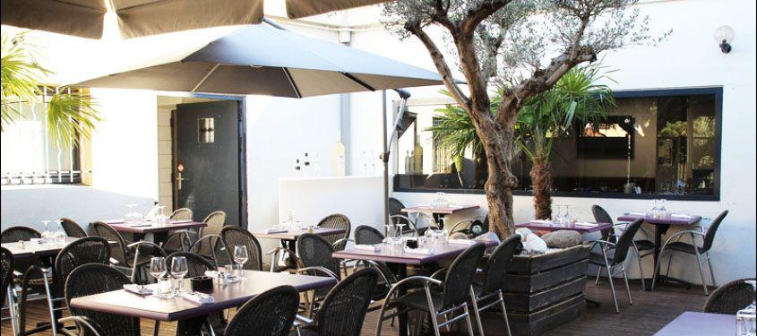 Terrasse du restaurant Le 109 à Décines-Charpieu