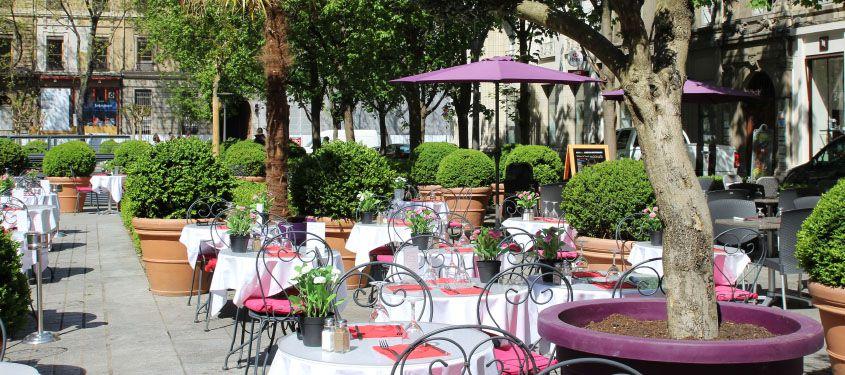 Les terrasses de restaurant avec une belle vue à Lyon