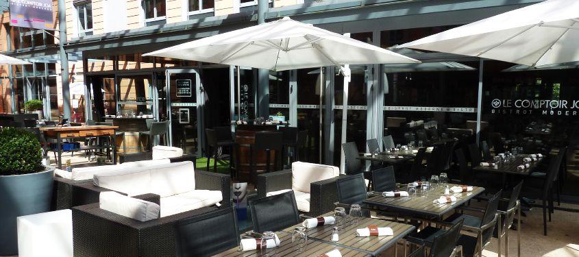 Terrasse du restaurant Le Comptoir JOA à Lyon