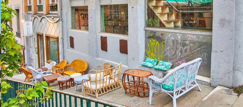 Terrasse du restaurant Mas amor por favor à Lyon