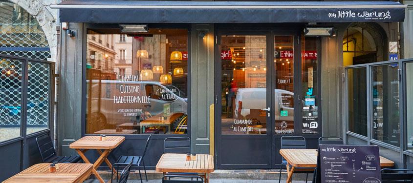 Terrasse du restaurant My Little Warung (Merciere) à Lyon