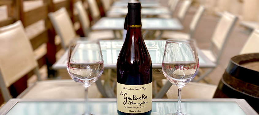 Terrasse du restaurant Table et Vins d'Ainay à Lyon